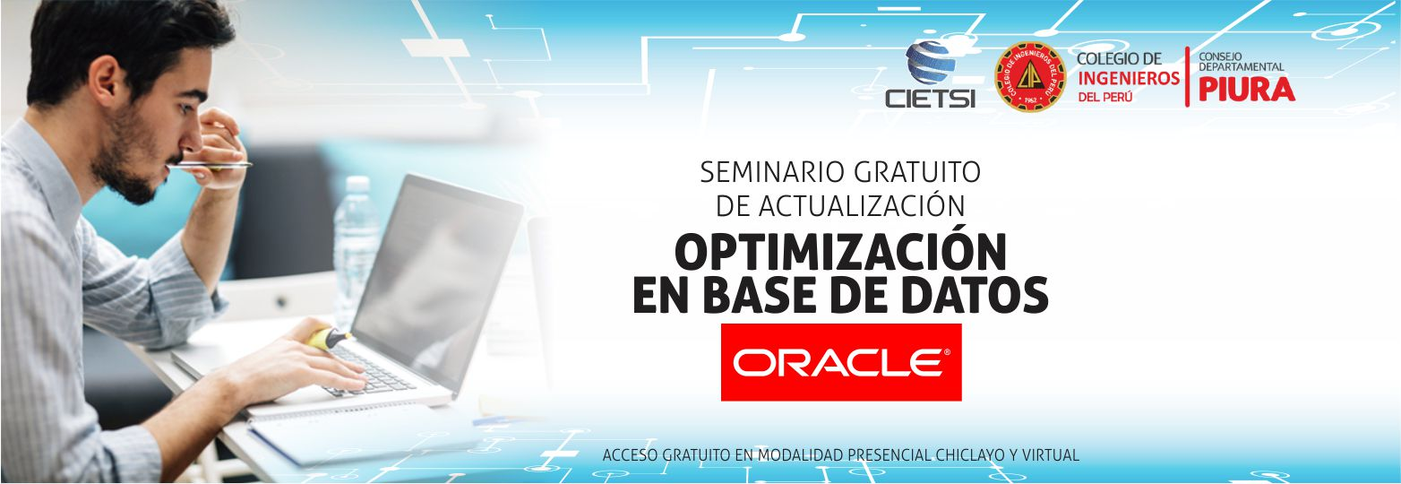 seminario gratuito de actualizaciOn optimizaciOn en base de datos oracle 2018 nuevo